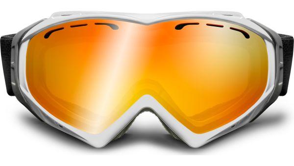 Skibrille 167 weiß von Lennox Eyewear Sports