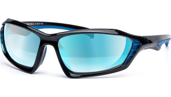 Embla 6717 schwarz/blau von Lennox Eyewear Sports