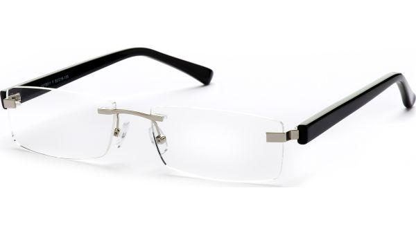Jucu silber/schwarz von Lennox Eyewear