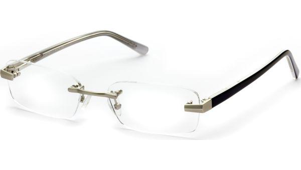 Esid silber/schwarz von Lennox Eyewear