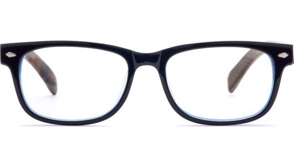 Lesedi schwarz/braun von Lennox Eyewear