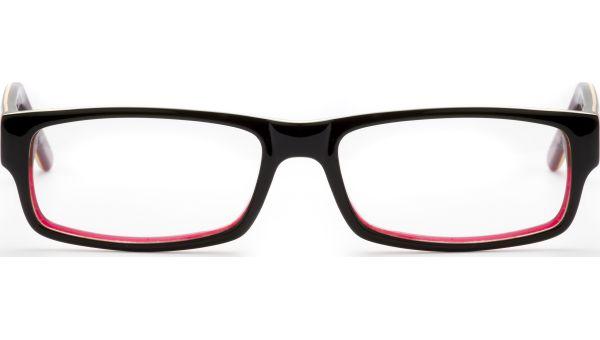 Femizo schwarz/rot von Lennox Eyewear