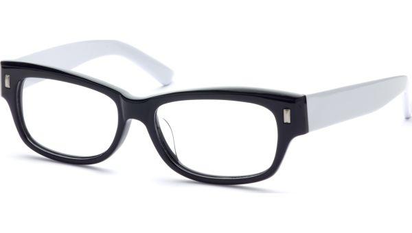 Mamadou 5316 schwarz/weiß von Lennox Eyewear