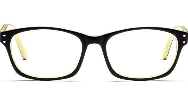 Tirinu 5217 schwarz/gelb von Lennox Eyewear