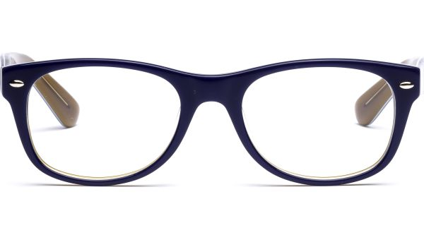 Amana 5119 blau, weiß, braun von Lennox Eyewear