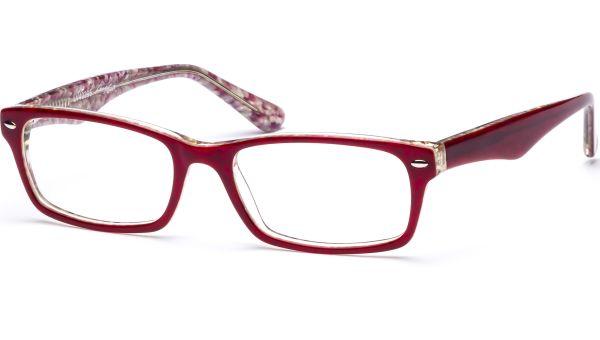 Hilja 5418 rot/perlmutt/transparent von Lennox Eyewear