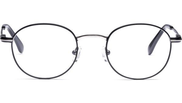 Hildur 4721 schwarz/silber matt von Lennox Eyewear