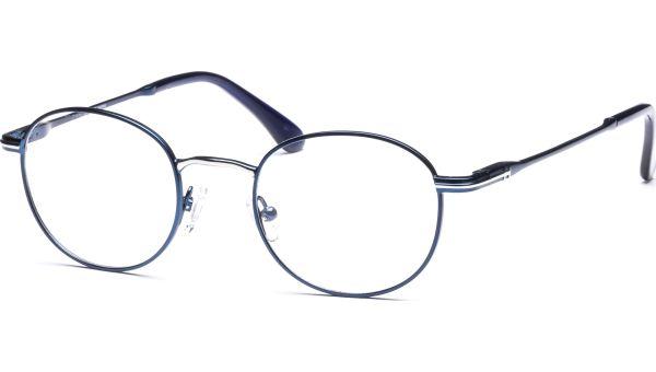 Hildur 4721 blau matt/silber von Lennox Eyewear