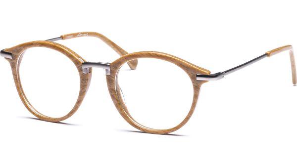Talvi 4821 braun Holz/silber matt von Lennox Eyewear