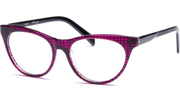 Lilja 5216 pink/transparent/schwarz von Lennox Eyewear