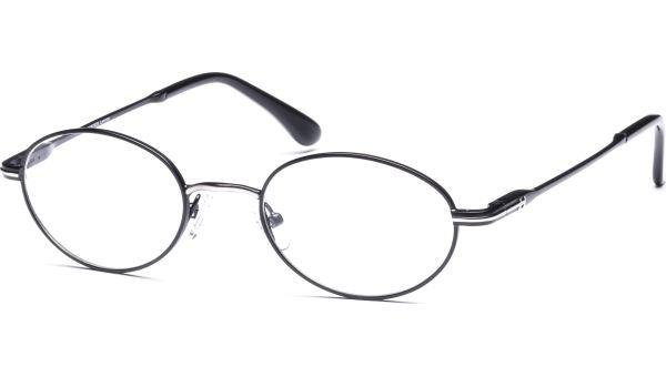 Meelis 4921 schwarz/silber matt von Lennox Eyewear