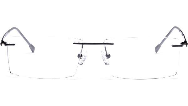 Janish 5616 schwarz matt von Lennox Eyewear