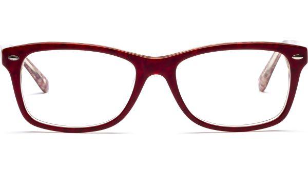 Lenita 5317 rot/bunt/transparent von Lennox Eyewear