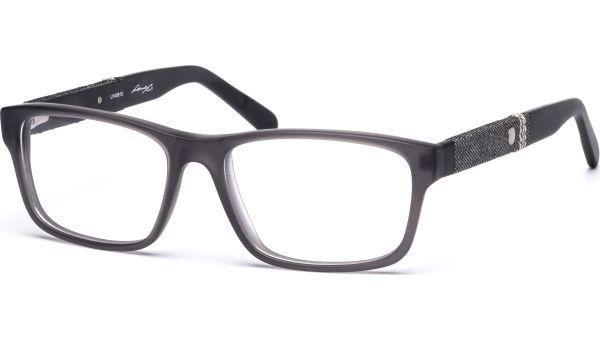 Leto 5316 grau transparent matt/schwarz von Lennox Eyewear