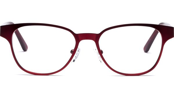 Tia 4615 matt rot von Lennox Eyewear
