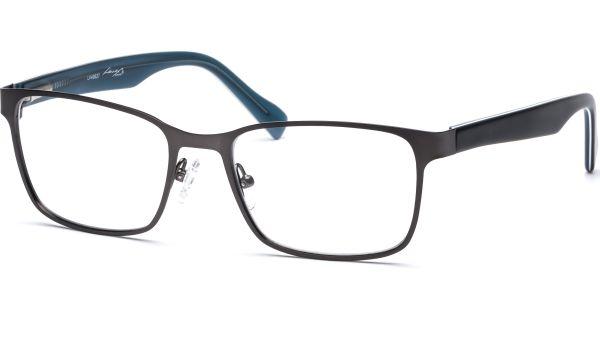 Jesse 5318 matt grau/schwarz/türkis von Lennox Eyewear