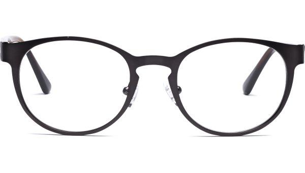 Kari 4819 matt grau/braun Holz von Lennox Eyewear
