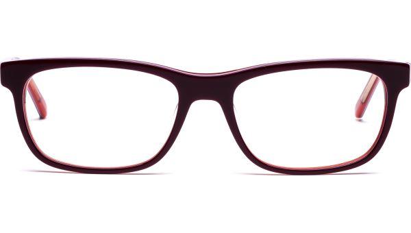 Miika 5217 himbeere/weiß/rot von Lennox Eyewear