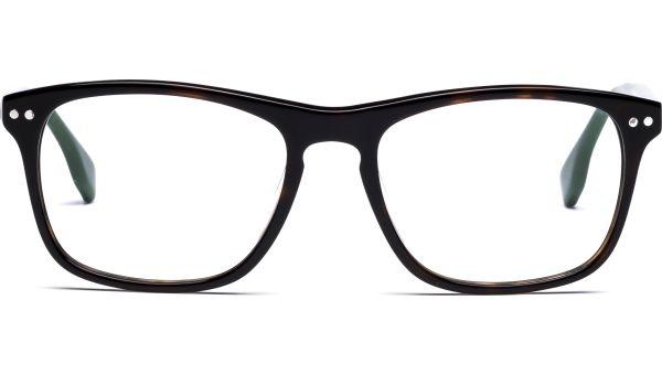 Hannu 5217 demi-braun/grün von Lennox Eyewear