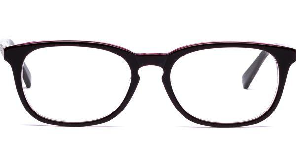 Joni 5117 lila/braun Holz von Lennox Eyewear