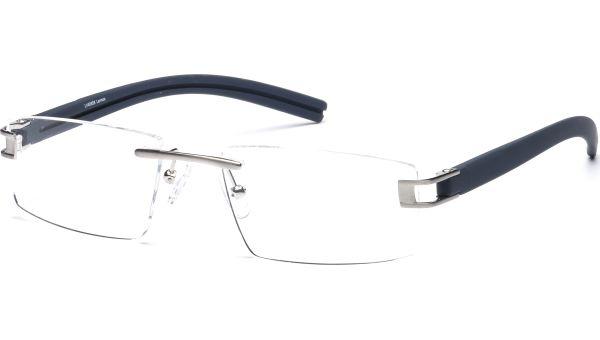 Madis 5318 silber matt/dunkelblau von Lennox Eyewear