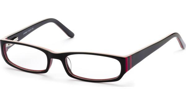 Reca 5217 schwarz/rot von Lennox Eyewear