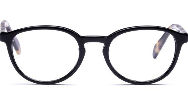 Meelika 4719 schwarz/demi-braun von Lennox Eyewear