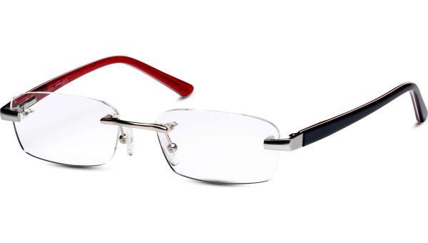 Esid 5116 silber/blau/rot von Lennox Eyewear