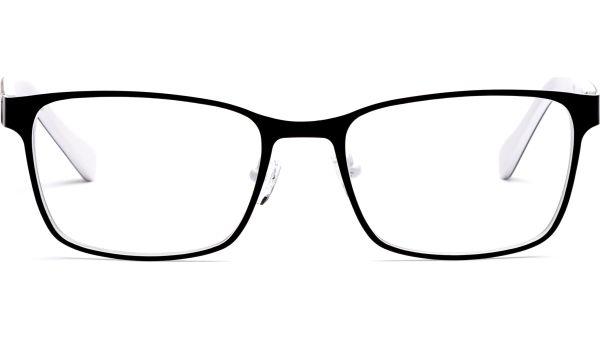 Jesse 5318 matt schwarz/weiß von Lennox Eyewear
