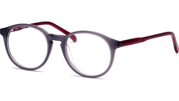 Jaak 4918 matt grau transparent/rot transparent von Lennox Eyewear