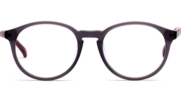Jaak 4918 matt grau transparent/rot transparent von Lennox Eyewear