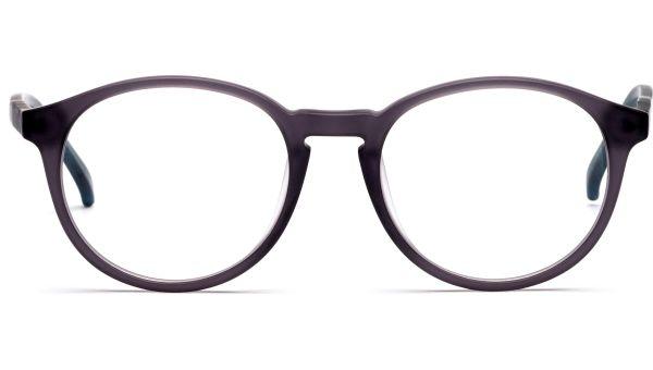 Jaak 4918 matt grau transparent/blau transparent von Lennox Eyewear