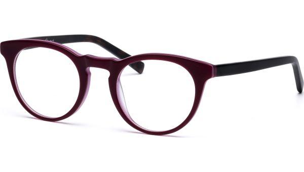 Mayra 4521 dark red/brown von Lennox Eyewear
