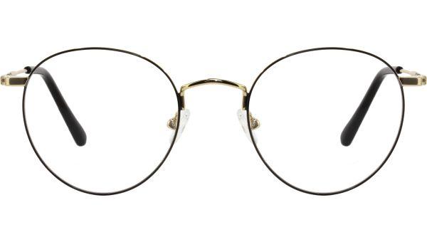 Yule 5021 black/gold  von Lennox Eyewear