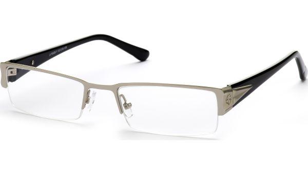 Naco silber/schwarz von Lennox Eyewear