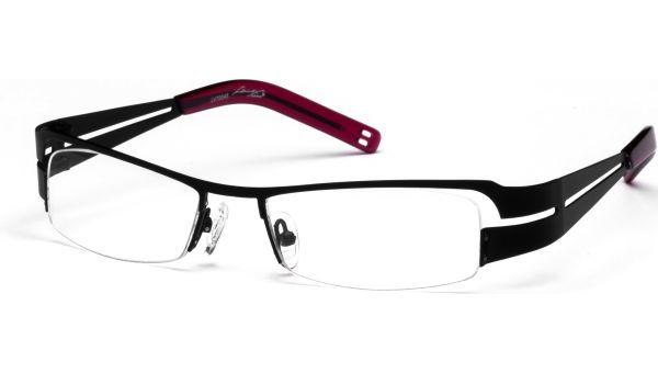 Yemi schwarz/rot von Lennox Eyewear