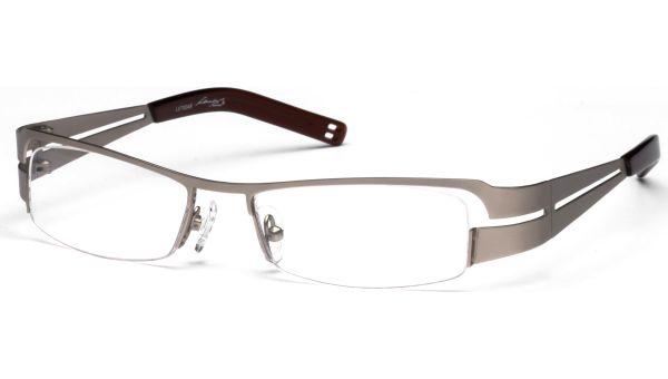 Yemi silber/braun von Lennox Eyewear