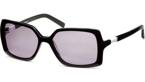 Yassia schwarz/weiß von Lennox Eyewear
