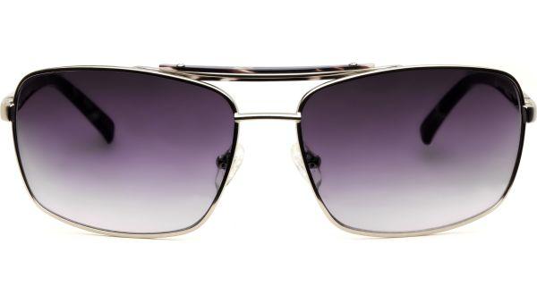 Fumiko silber/schwarz von Lennox Eyewear