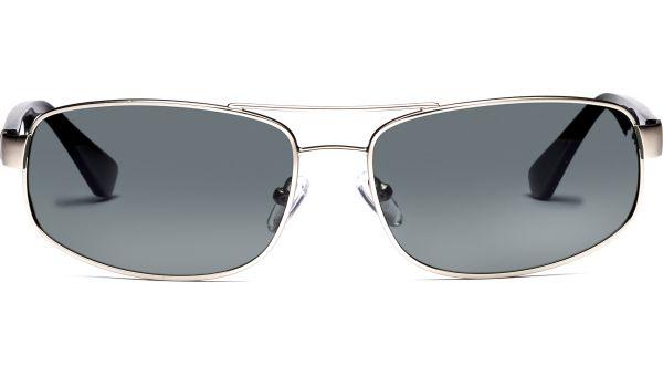 Sangita 6116 silber/schwarz von Lennox Eyewear