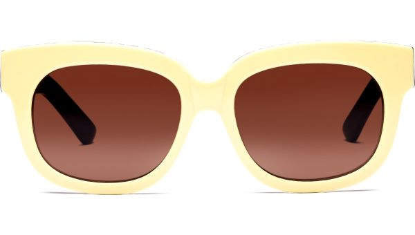 Yasuta 5217 beige/schwarz von Lennox Eyewear