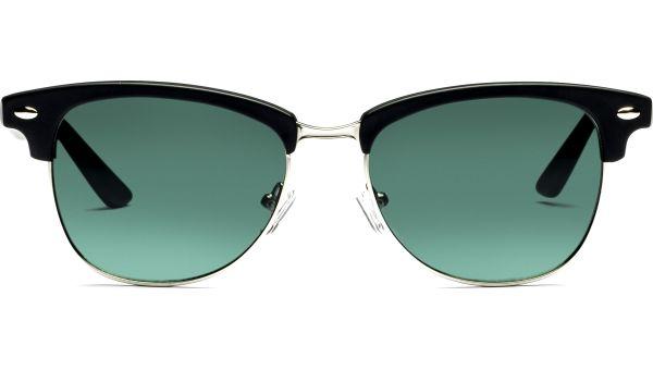 Elvar 5317 matt schwarz/silber, CAT 3 von Lennox Eyewear