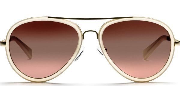 Kaidi 5717 gold/beige/transparent von Lennox Eyewear