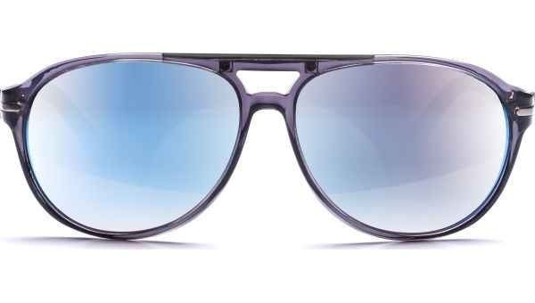 Aki 6114 grau transparent/blau matt von Lennox Eyewear