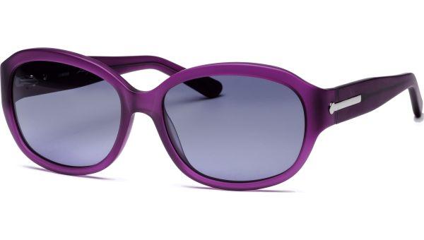 Amara 5616 matt rot/lila transparent von Lennox Eyewear
