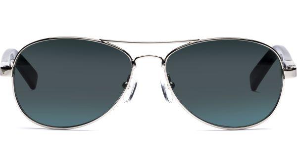 Lone 5615 silber/schwarz von Lennox Eyewear
