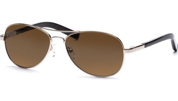 Lone 5615 gold/demi-braun von Lennox Eyewear