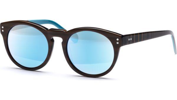 Lian 5019 braun/türkis von Lennox Eyewear