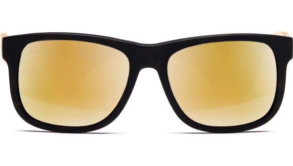Husano small 5216 matt demi-braun/matt orange transparent, Verspiegelt, CAT 3 von Lennox Eyewear