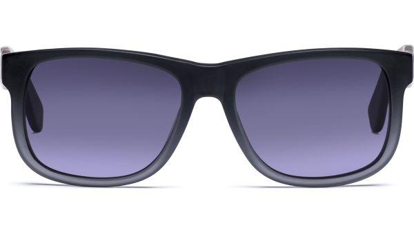 Husano small 5216 matt grau transparent, CAT 3 von Lennox Eyewear